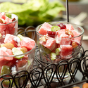 Watermelon Waldorf Salad