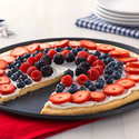 Easy Patriotic Fruit Pizza